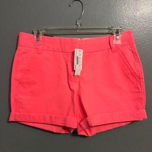 NWT J. Crew Chino Shorts Size 2